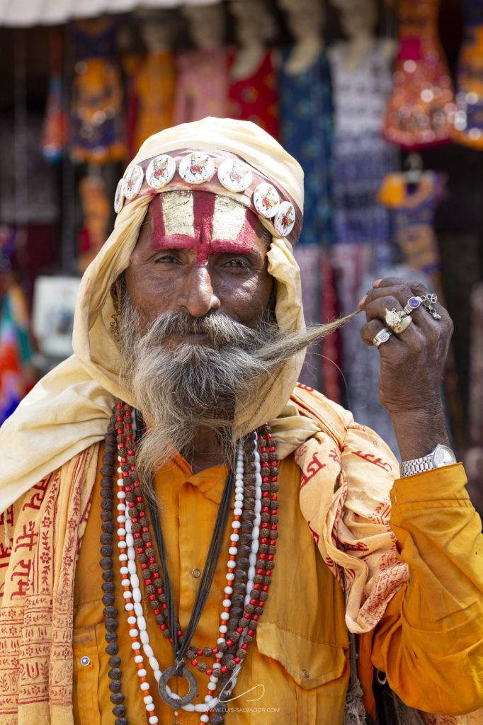 """The wise man"" - Pushkar, India. 2018 © Luís Salvador"